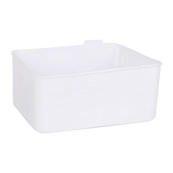 Organizador Multiusos Jano Flexível Branco (18 X 13,5 X 7,5 cm) - S2204107