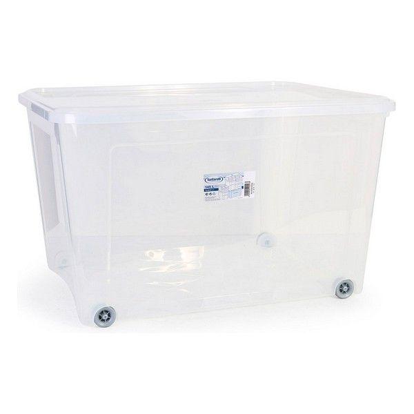 Caixa de Armazenagem com Tampa Combi 145 L (78,2 X 58,2 X 47 cm) - S2201008