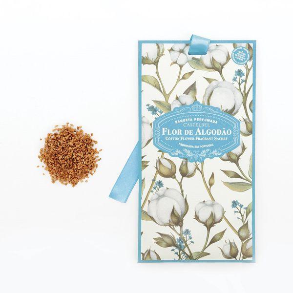 Castelbel Saqueta Perfumada Flor de Algodão