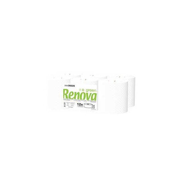 Renova Green Papel Higienico Jumbo 2Fls Pack 12 120mts