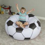Puff Formato Bola de Futebol 114x112x66cm