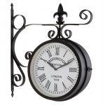 Blumfeldt Relógio de Parede de Jardim Paddington Sun Vintage
