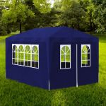 vidaXL Tenda para Festa de 4 Paredes 3x4m Blue - 90335
