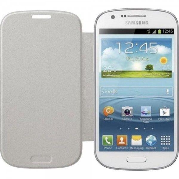 Samsung Capa Flip Cover para Samsung Galaxy Express i8730 White -  EF-FI873BWEGWW