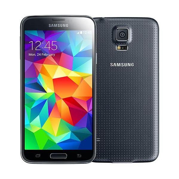 smartphone samsung galaxy s5 16gb sm g900f black. Black Bedroom Furniture Sets. Home Design Ideas