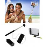 New Mobile Selfie Stick com Disparo Bluetooth Black - NM-9200