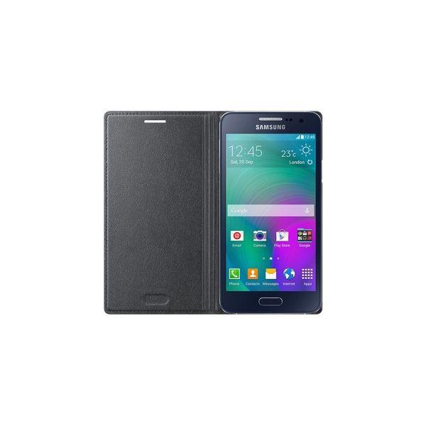 6357eb1dad2 Samsung Capa Flip Wallet Cover para Galaxy A3 Charcoal Black - EF -FA300BCEGWW