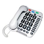 Geemarc Amplipower 40 Telefone Amplificador White