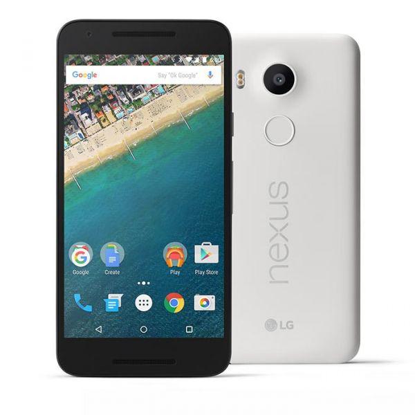 Smartphone LG Google Nexus 5X 32GB Quartz White (Desbloqueado)