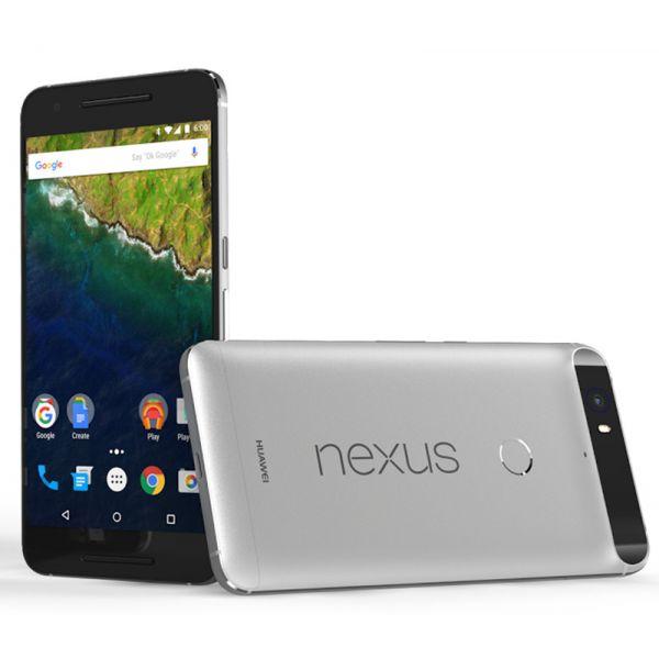 Smartphone Huawei Nexus 6P 32GB Aluminium Silver (Desbloqueado)
