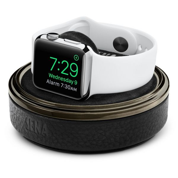 on sale 3b7d1 43a90 Sena Cases Leather Watch Case para Apple Watch