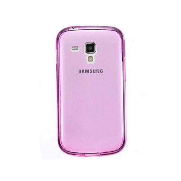 Capa em Gel Tpu Ultra Fina para Samsung Galaxy Trend / Trend Plus Red