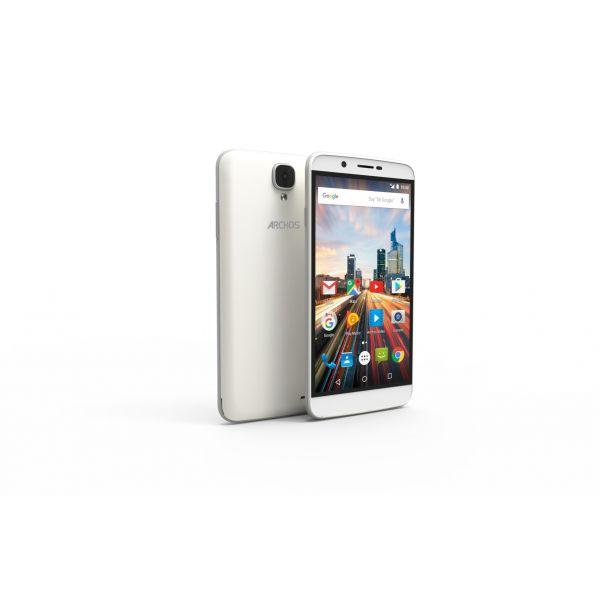 smartphone archos 55 helium dual sim 1gb 8gb white desbloqueado kuantokusta. Black Bedroom Furniture Sets. Home Design Ideas