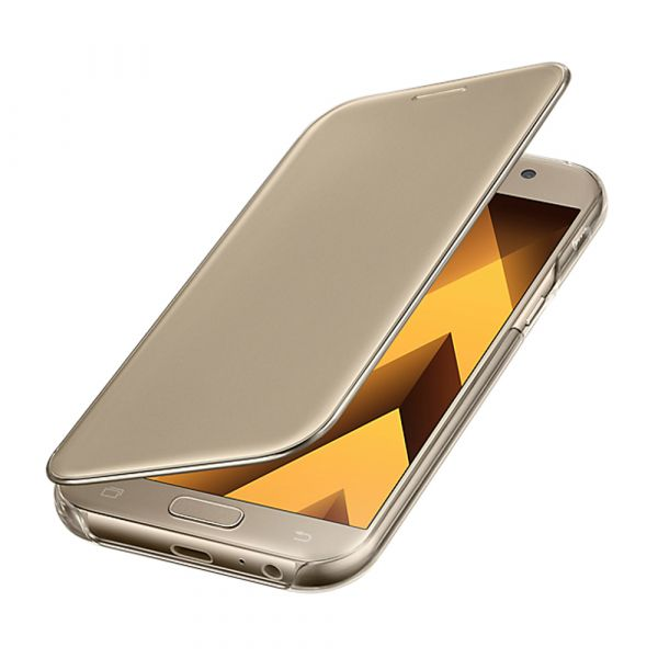 best authentic 4a383 08ec2 Samsung Capa Clear View Cover para Samsung Galaxy A5 2017 Gold -  EF-ZA520CFEGWW