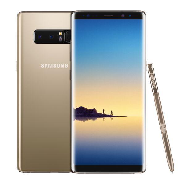 ad013ffed Smartphone Samsung Galaxy Note 8 Dual SIM 64GB SM-N950F Maple Gold  (Desbloqueado)
