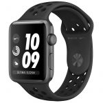 Smartwatch Apple Watch Nike+ Series 3 GPS 38mm Space Grey Aluminum Case with Anthracite/Black Nike Sport Band - MQKY2QL/A