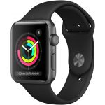 Smartwatch AppleWatch Series3 GPS 42mm Space Grey Aluminum Case with Grey Sport Band - MR362QL/A