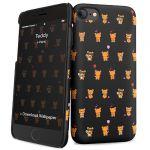 i-Paint Capa para Apple iPhone 7/8 Hard Teddy - 8053264073107