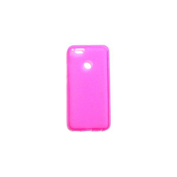 Capa Gel Para Xiaomi Mi A1 Pink Kuantokusta