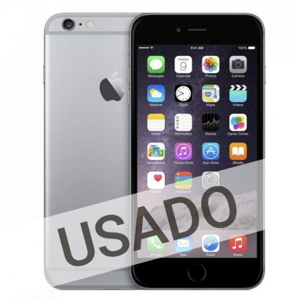 93aa626d2 Apple iPhone 6 64GB Space Grey (Grade A Usado) - KuantoKusta