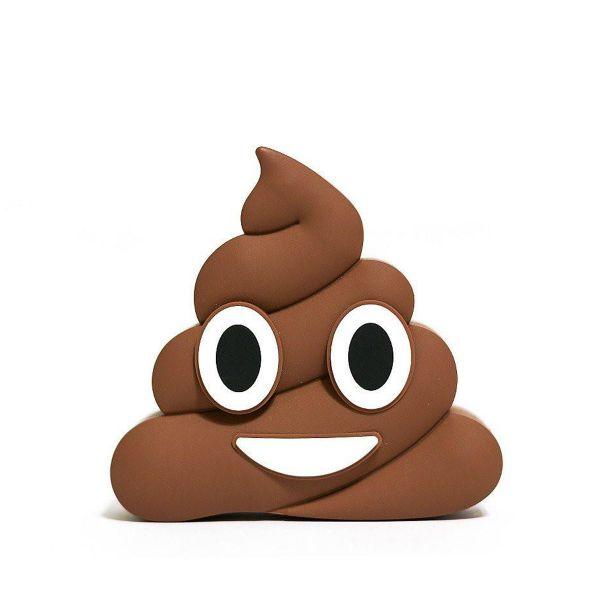 Power Bank MojiPower 2600mAh Emoji Brown Poop
