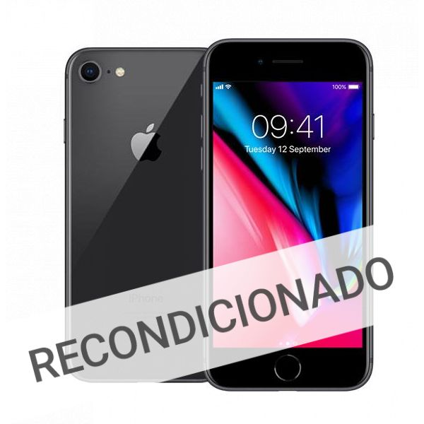 01c18d3fc Apple iPhone 8 64GB Space Grey (Grade A Usado) - KuantoKusta