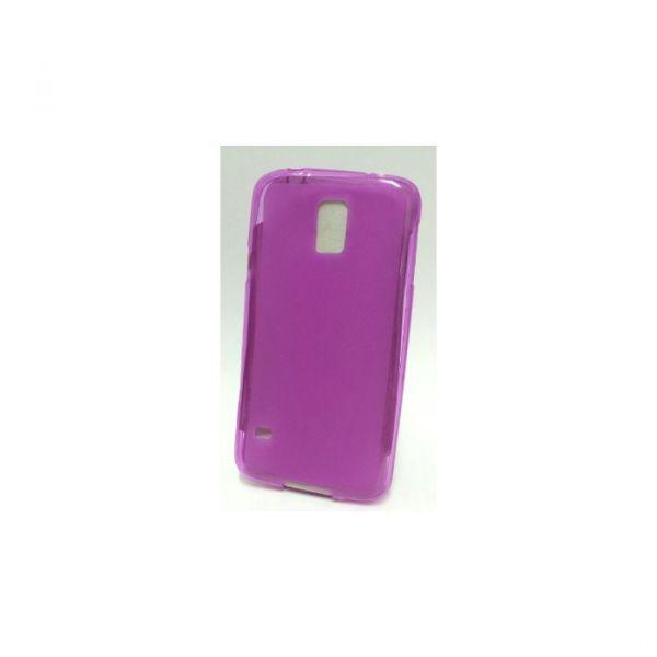Capa Silicone para Samsung Galaxy S5 (samsung G900, para Samsung i9600)  Pink Clear