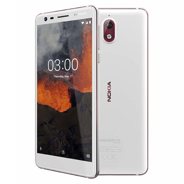 Smartphone Nokia 3.1 Dual Sim 2GB/16GB White (Desbloqueado)