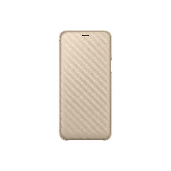 new style c4bf8 5651e Samsung Galaxy A6+ Wallet Cover Gold - EF-WA605CFEGWW