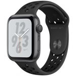 Smartwatch Apple Watch Nike+ Series 4 GPS 44mm Space Grey Aluminum Case with Anthracite/Black Nike Sport Band