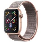 Smartwatch Apple Watch Series 4 GPS 44mm Gold Aluminum Case with Pink Sand Sport Loop
