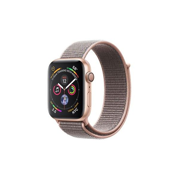 8d719bd3f16 Smartwatch Apple Watch Series 4 44mm Gold Aluminum Case with Pink Sand  Sport Loop