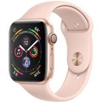 Smartwatch Apple Watch Series 4 GPS 44mm Gold Aluminum Case with Pink Sand Sport Band