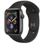 Smartwatch Apple Watch Series 4 44mm Space Grey Aluminum Case with Black Sport Band