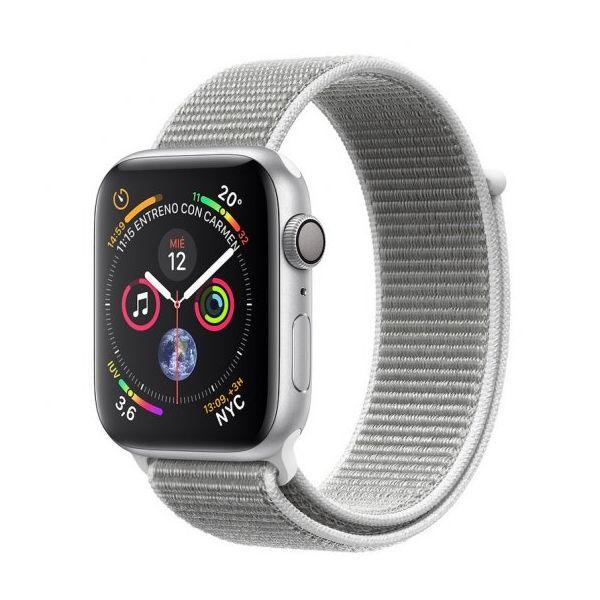 Smartwatch Apple Watch Series 4 GPS 44mm Silver Aluminum Case with Seashell Sport Loop