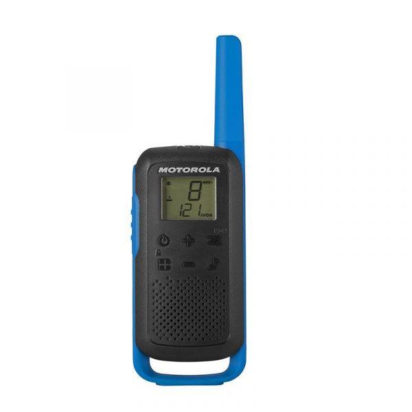 Motorola TLKR T62 Pack 2 Walkie Talkie Blue