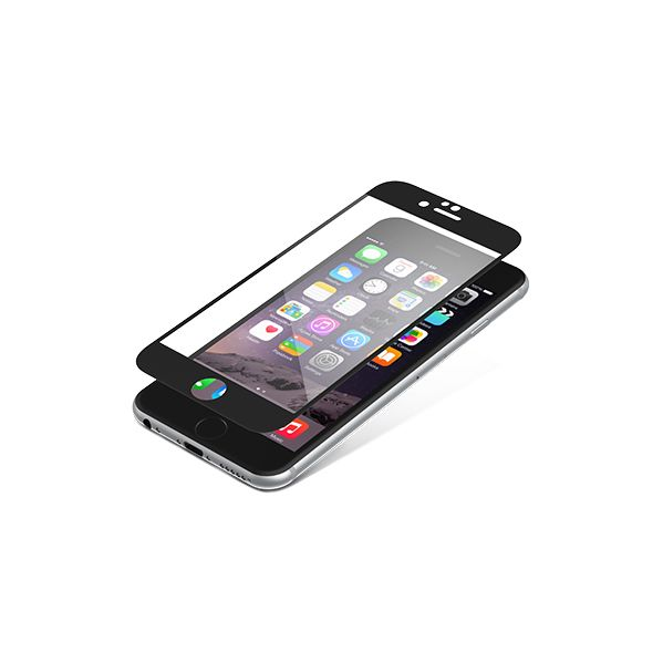 9b3523435af InvisibleSHIELD Película Protectora Ecrã Glass Luxe para iPhone 6/6S Black