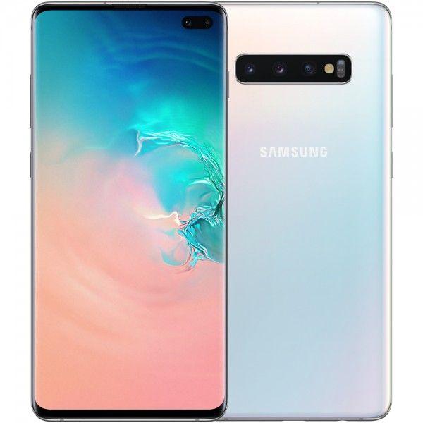 Smartphone Samsung Galaxy S10+ Dual SIM 8GB/128GB SM-G975 Prism White (Desbloqueado)