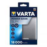 Power Bank Varta Silm 18000mAh + Micro USB Cabo