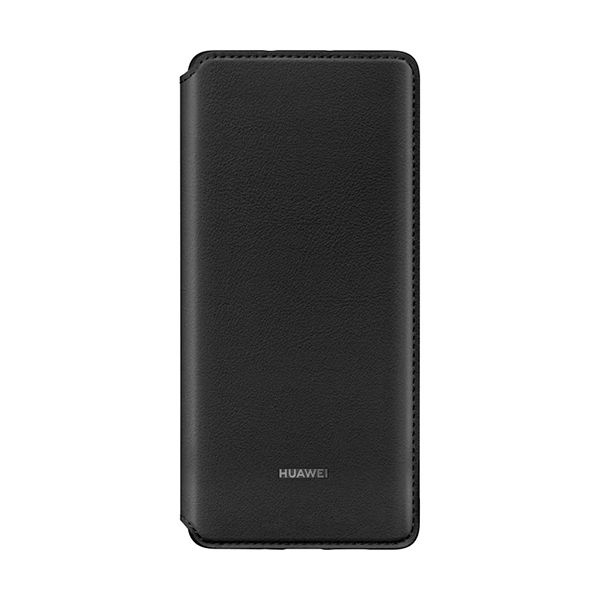 Huawei Capa Huawei P30 Pro Wallet Cover Black