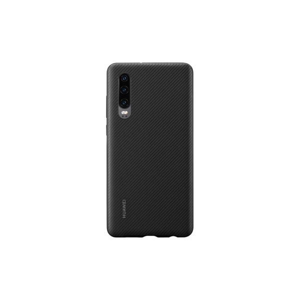 Huawei Capa Huawei P30 PU Case Black