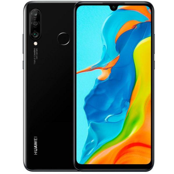 Smartphone Huawei P30 Lite Dual SIM 4GB/128GB Black (Desbloqueado)