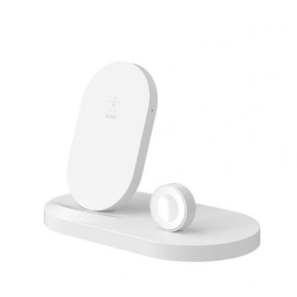 Belkin Charge Dock Apple iPhone/Watch White - F8J235VFWHT