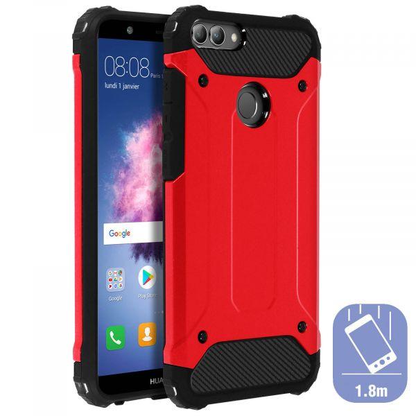 Avizar Capa Antigolpes Huawei P Smart Antiquedas (1,80m) Red