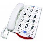 Clarity 76557.101 50dB Phone Large White Keys - CLARITY-JV35W