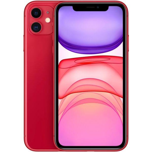 Smartphone Apple iPhone 11 64GB Red (Desbloqueado)