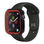 Avizar Capa Apple Watch (42 Y 44 mm) Bumper Protetor Silicone Flexível Red