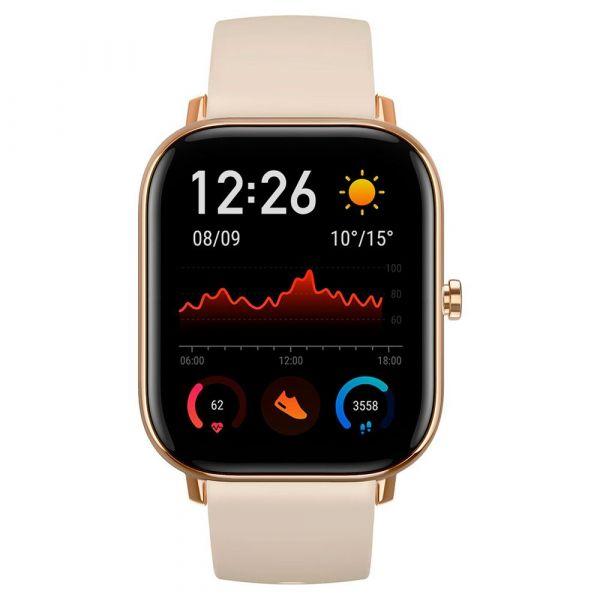 """Smartwatch Xiaomi Amazfit GTS 1.65"""" Gold - W1914OV1N"""