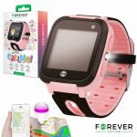 Smartwatch Forever Kids Kw-50 C/ Localizador Lbs Pink