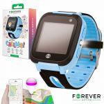 Smartwatch Forever Kids Kw-50 C/ Localizador Lbs Blue